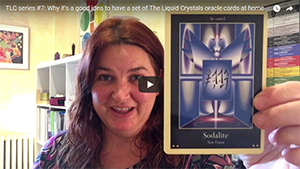 The Liquid Crystals oracle card deck