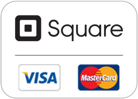 Credit card payments available via square